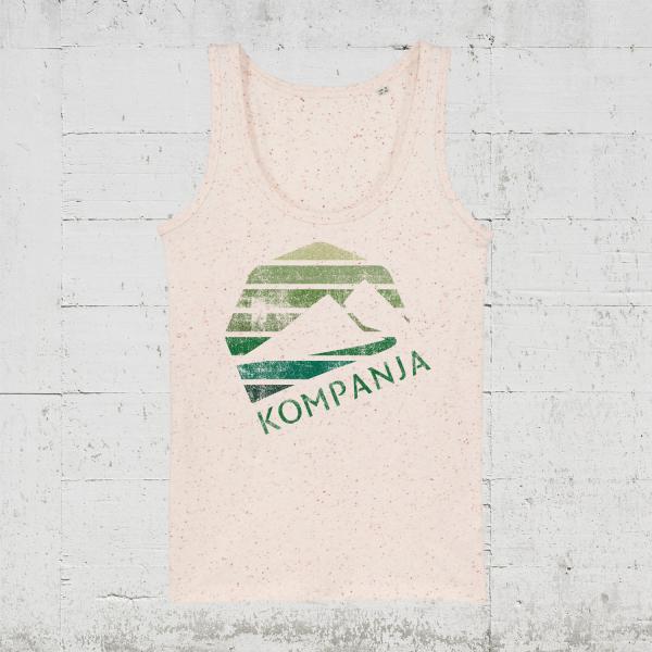 Kompanja Logo Stripes back   Tank Top Women