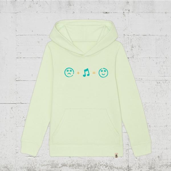 sad. music. happy. | Hoodie Kids