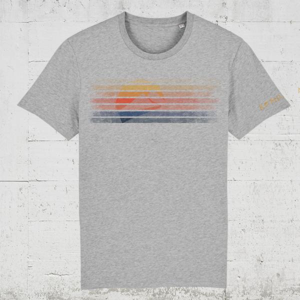 Kompanja Logo Stripes front   T-Shirt Men
