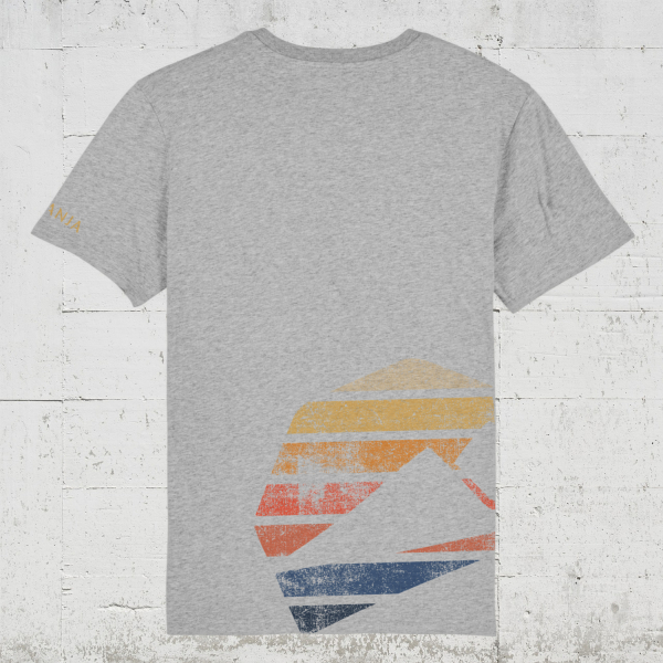 Kompanja Logo Stripes back   T-Shirt Men