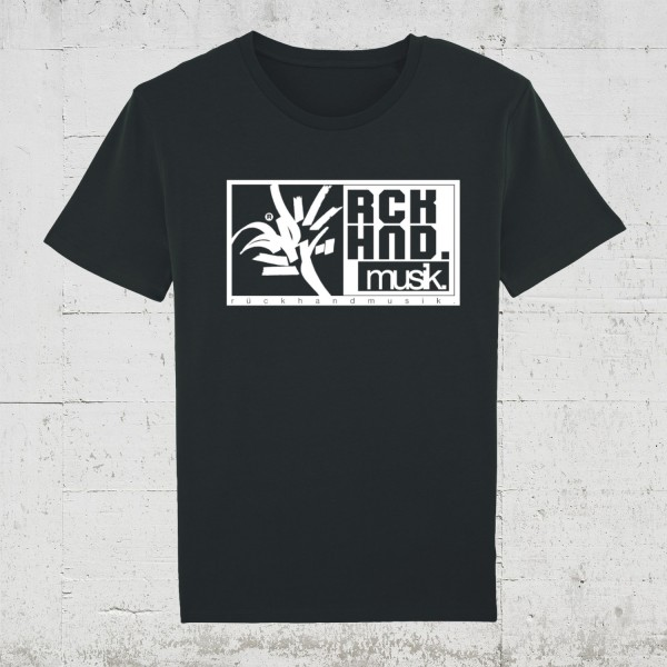 Rückhandmusik Logo | T-Shirt Men HLP Artists