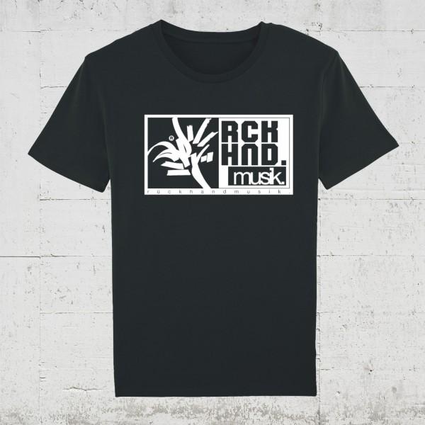 Rückhandmusik Logo | T-Shirt Men HLP Artists