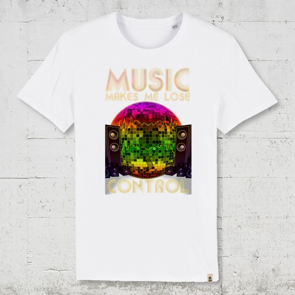 Music Makes Me Lose Control | T-Shirt Jungs