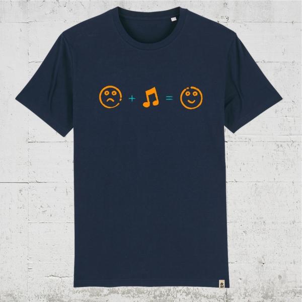sad. music. happy. | T-Shirt Men