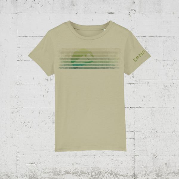 Kompanja Logo Stripes front | T-Shirt Kids