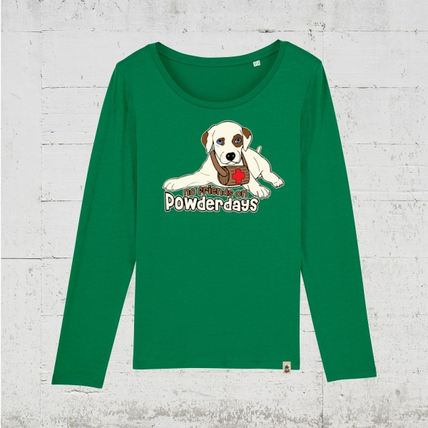 No Friends On Powderdays | Longsleeve Women