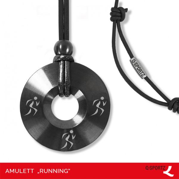 Running runde Amulett-Kette Q-Sportz