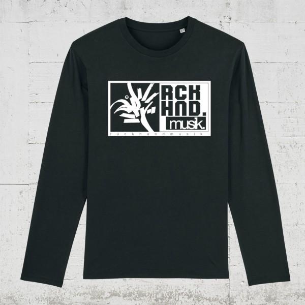 Rückhandmusik Logo | Longsleeve Men HLP Artists