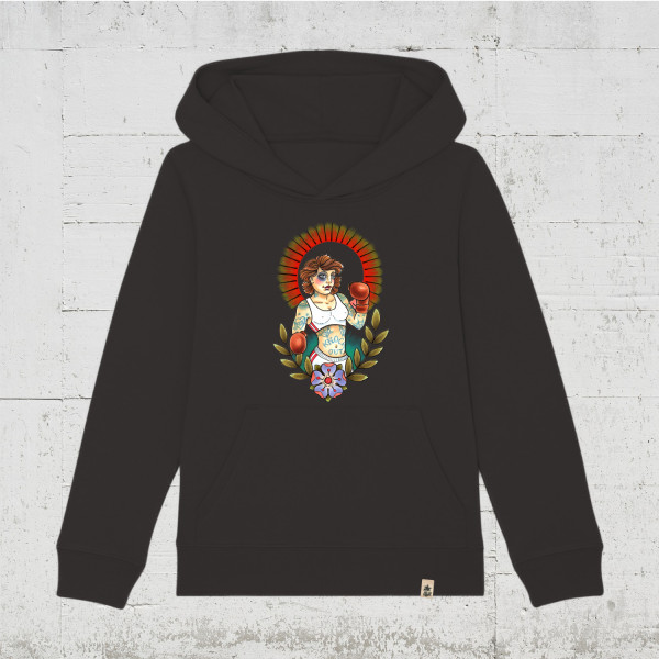 Knock Out | HLP Artists Tattoo-Art Kids Hoodie