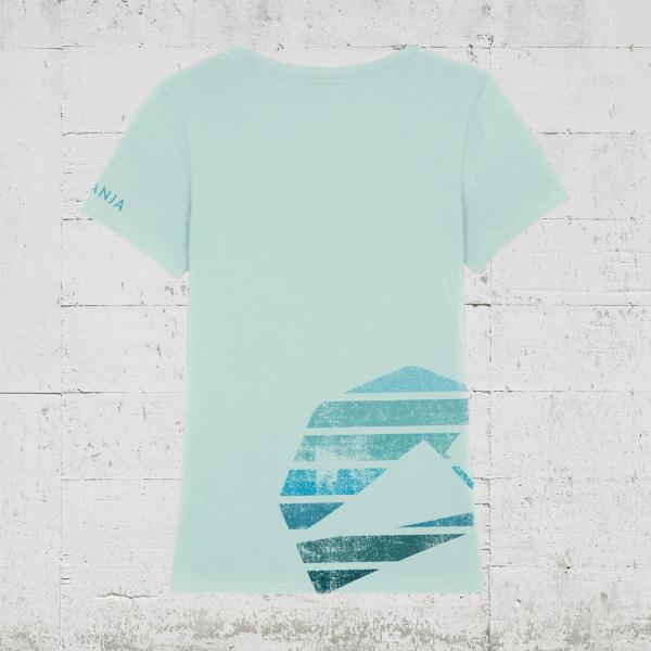 Kompanja Logo Stripes back | T-Shirt Women