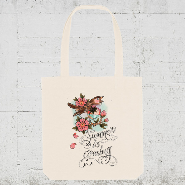 Summer is coming | Tote Bag HLP Artists