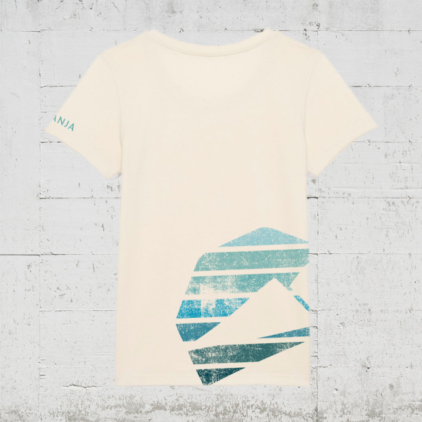 Kompanja Logo Stripes back   T-Shirt Women