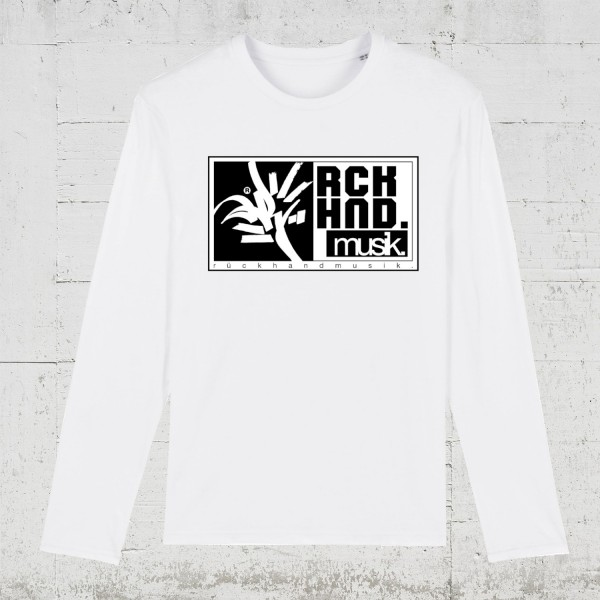 Rückhandmusik Logo | Longsleeve Men HLP Artists