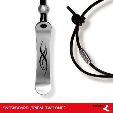 Snowboard Tribal Two.One Snowboard-Kette Q-Sportz