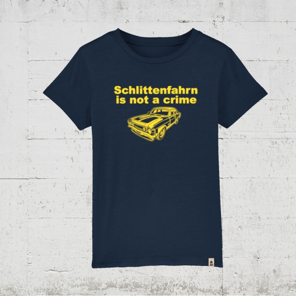 Schlittenfahrn is not a crime | T-Shirt Kids