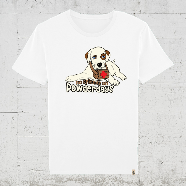 No Friends On Powderdays | T-Shirt Jungs