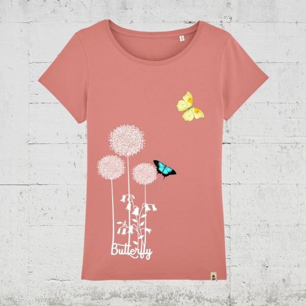 Butterfly Flower | T-Shirt Women
