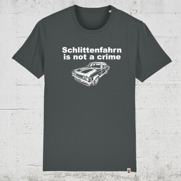 Schlittenfahrn is not a crime | T-Shirt Jungs