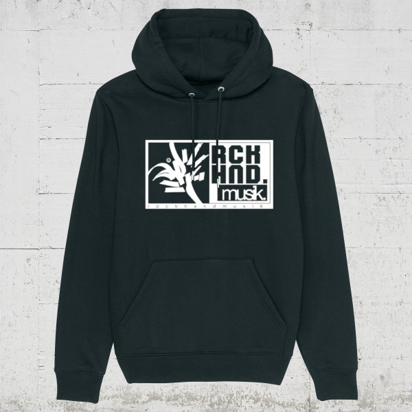 Rückhandmusik Logo | Hoodie Men HLP Artists