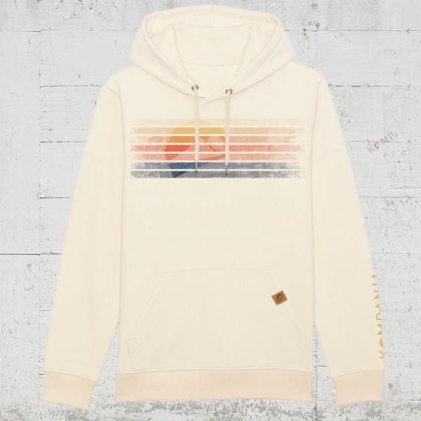 Kompanja Logo Stripes front | Hoodie unisex