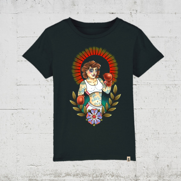 Knock Out   T-Shirt Kids HLP Artists