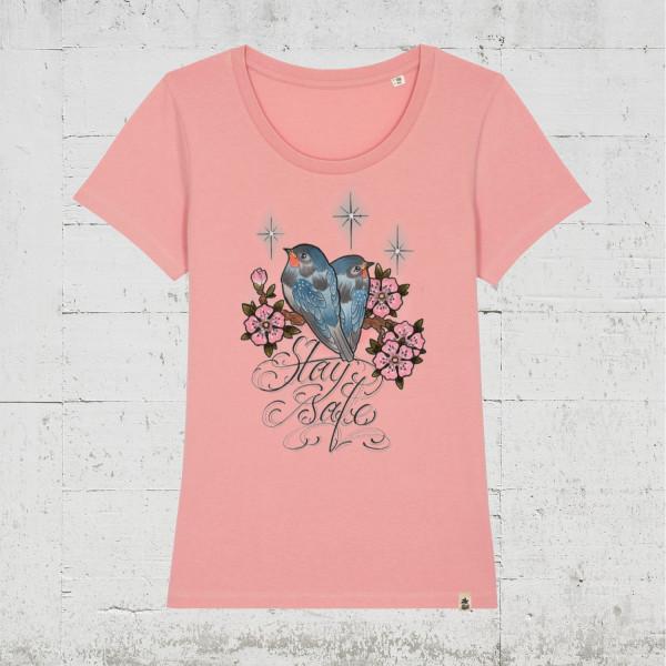 Stay Safe | HLP Artists T-Shirt Women