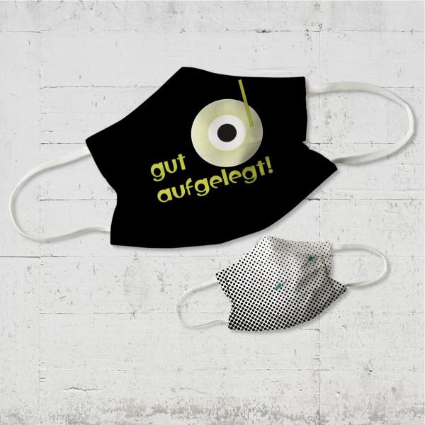 gut aufgelegt! - Community Wende-Maske - organic fairwear