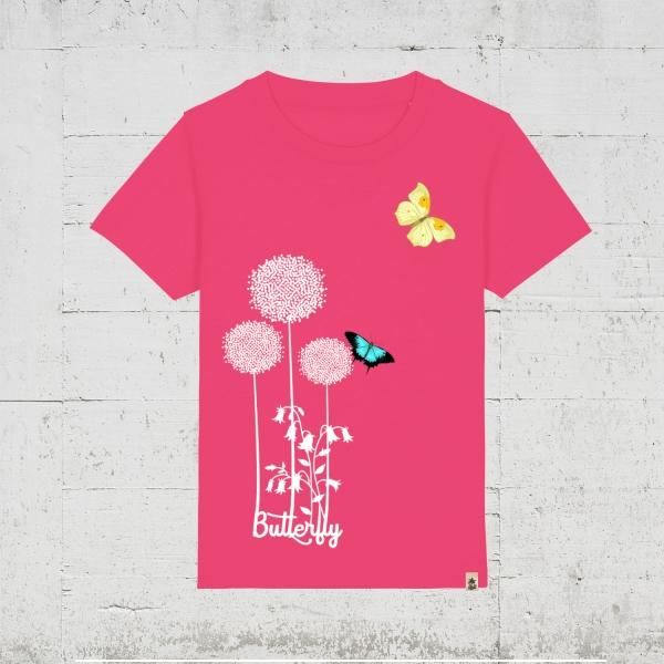 Butterfly Flower | T-Shirt Kids
